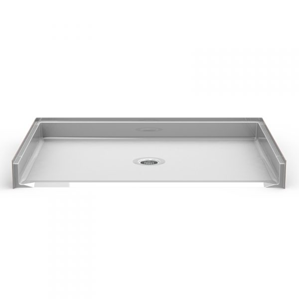 Barrier Free 60″ x 42″ Shower Pan | Beveled Threshold - On The Mend Medical Supplies & Equipment