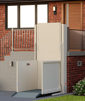 M2Lift Vertical Platform Lift (Wheelchair Lifts) is at On The Mend